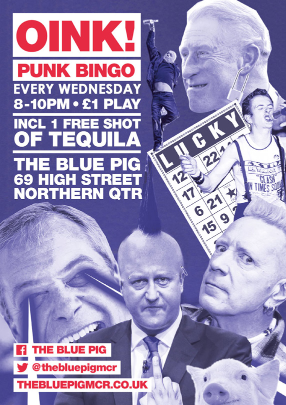 Punk Bingo at The Blue Pig